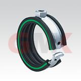 MUPRO Хомут Safety Clip ( Для всех типов труб Ø от 10 до 48,3 мм, Присоединительная гайка М8)