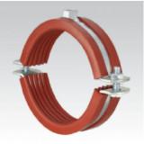Хомут MÜPRO SBC, термостойкий, тяжёлое исполнение, с красной DÄMMGULAST®