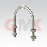 MUPRO U-образная скоба по DIN 3570, оцинкованная, форма A (Для крепления труб, Ø от 22 до 324мм, Исполнение от М8 до М20)